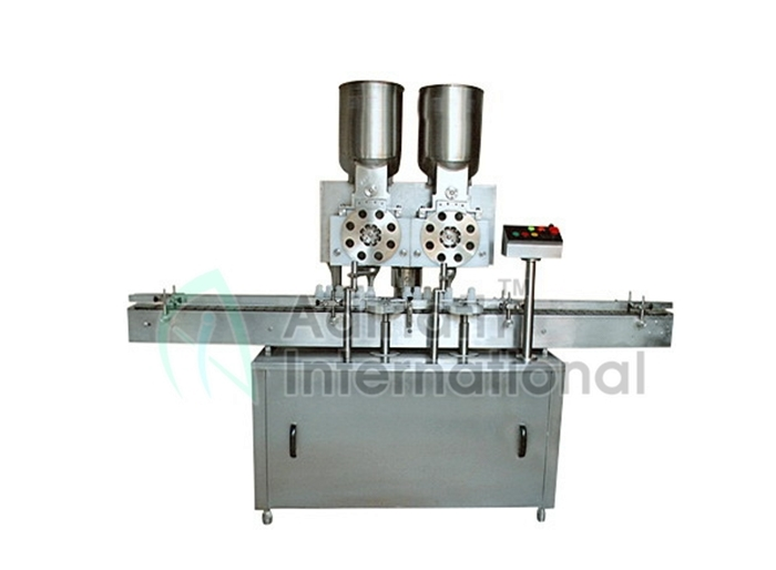 Injectable Powder Filling Rubber Stoppering Machine