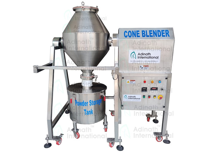 Double Cone Blender Manufacturers in India