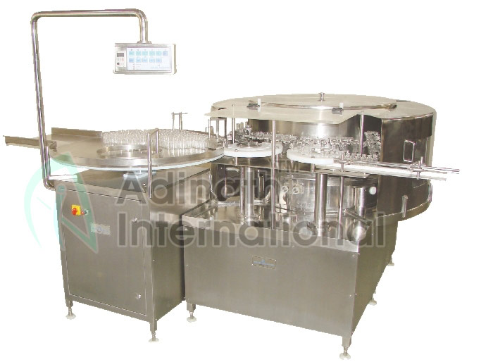 Online Machine Specification of High Speed Automatic Rotary Ampoule and Vial Washing Machine Suppliers in India
