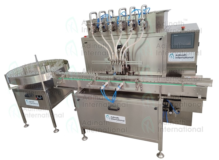 Vial Liquid Filling Machine - Automatic Syrup Filling Machine