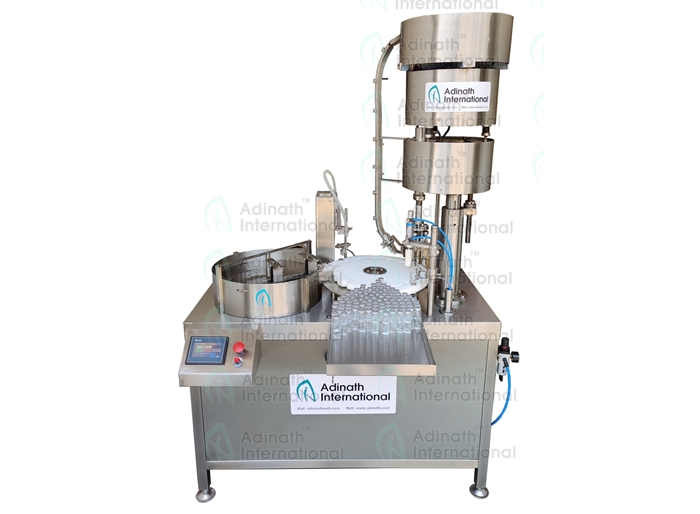 Automatic Monoblock Bottle Filling & Capping Machine