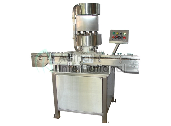 High Speed Automatic Vial Cap Sealing Machine Manufacturers in India