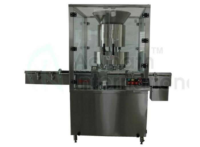 High Speed Automatic Vial Cap Sealing Machine