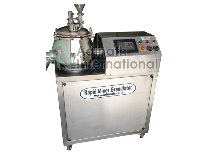 Machine Specification of Rapid Mixer Granulator