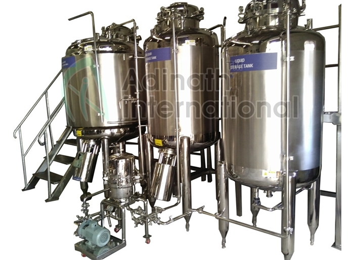 Syrup Manufacturing Plant Suppliers in India