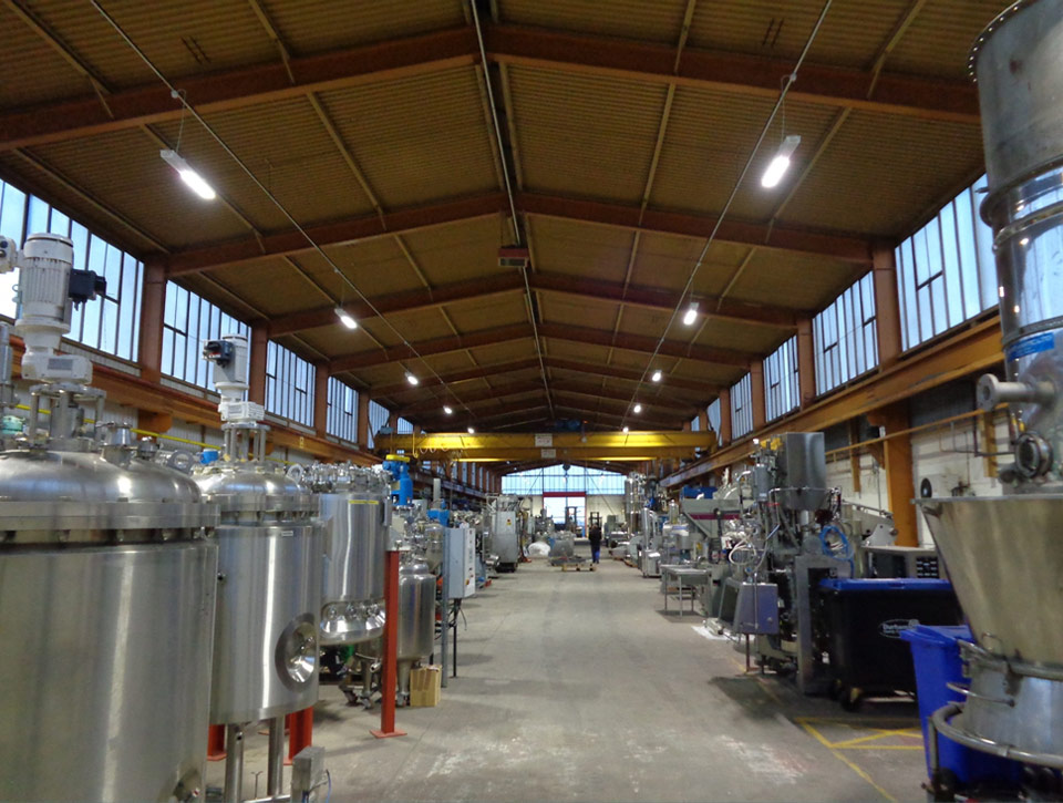 Infrastructure of Process Equipment Manufacturer