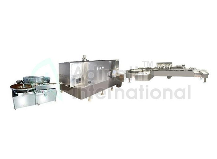 Machine Specification of Ampoule Filling Line