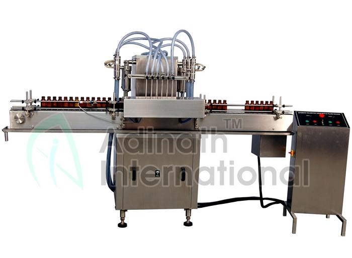 Aseptic Liquid Filling Machine - Liquid Filling Machines