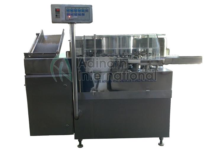 Automatic Ampoule Washing Machine - Washing & Airjet Cleaning Machines