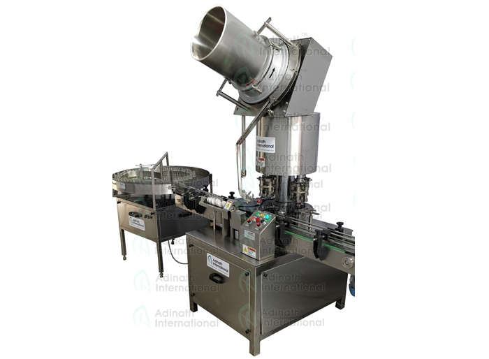 Automatic Four Head Bottle ROPP Screw Capping Machine