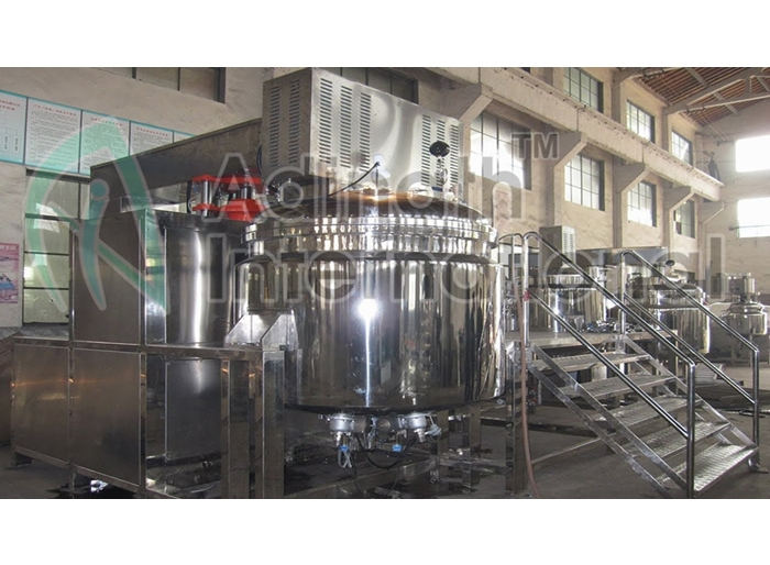 Machine Specification of Cream, Gel and Toothpaste Processing Plant