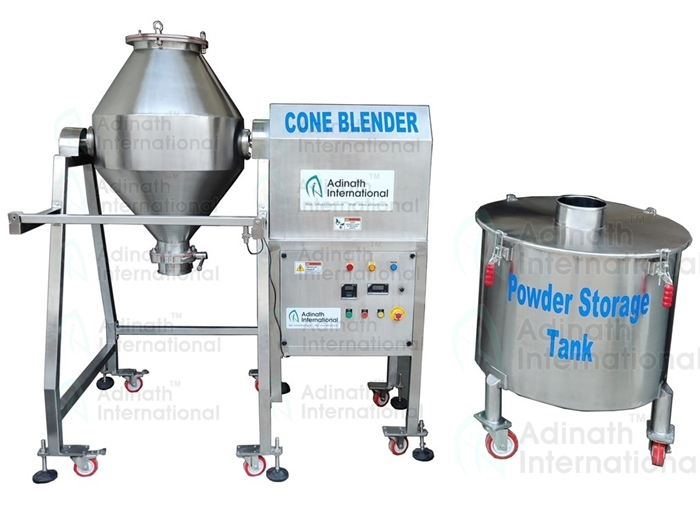 Double Cone Blender Manufacturers & Suppliers