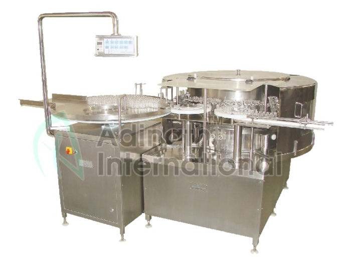 High Speed Automatic Rotary Ampoule & Vial Washing Machine