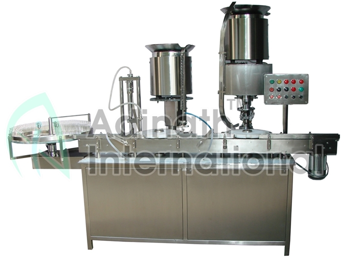 High Speed Automatic Vial Filling & Rubber Stoppering Machine