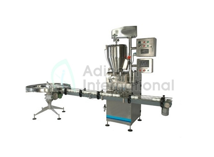 Cosmetic Machinery - Lotion and Gel Filling Machine