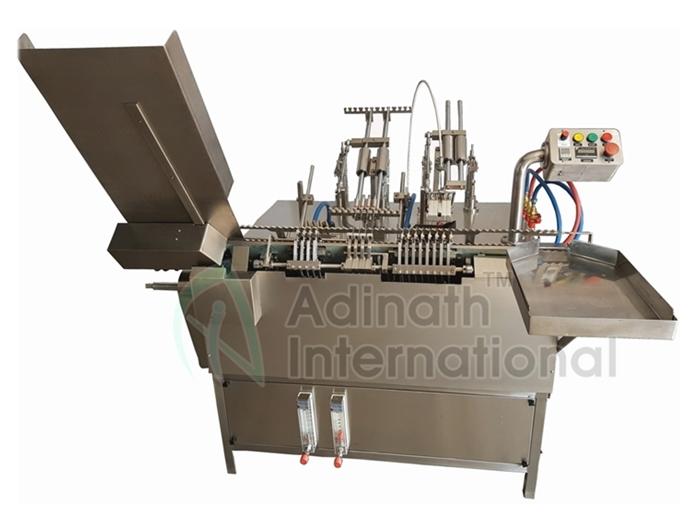 Liquid Filling Machines - Onion Skin Ampoule Filling Machine