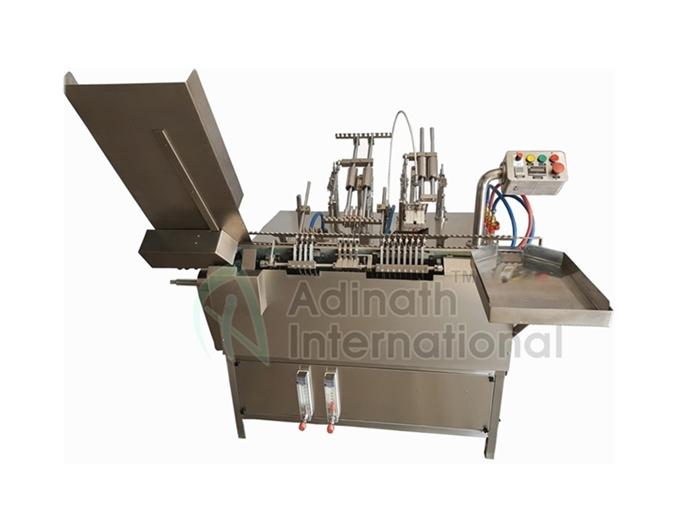 Onion Skin Tube Filler Sealer - Pharmaceutical Machinery