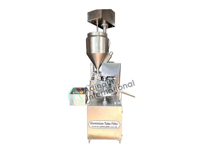Cosmetic Machinery - Semi Automatic Aluminium Tube Filling Machine