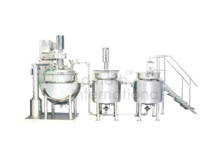 Pharmaceutical Machinery - Shampoo Manufacturing Plant
