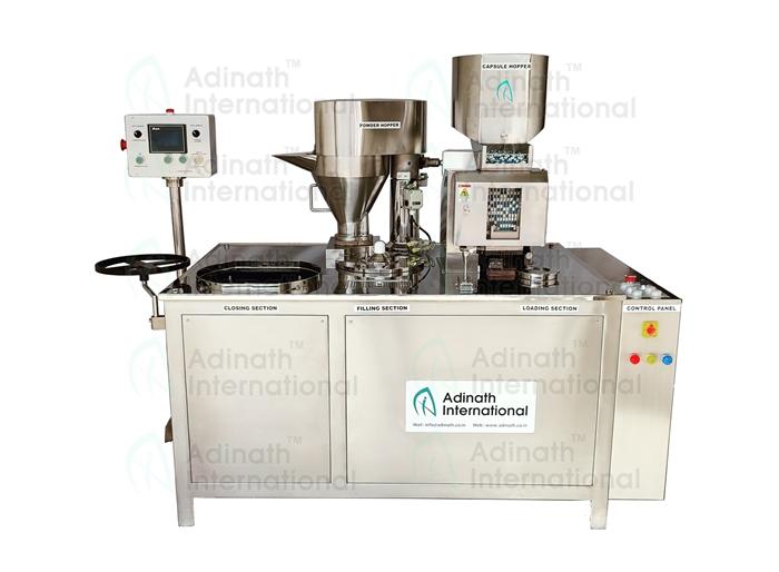 Single Loader Semi-Automatic Capsule Filling Machine