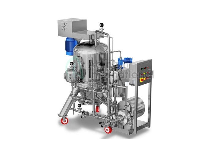 Pharmaceutical Machinery - Sterile LVP/SVP Manufacturing Vessel