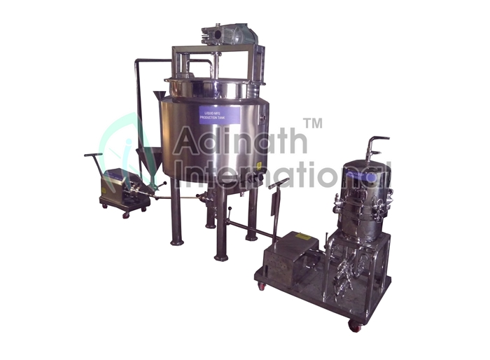 Syrup and Suspension Mixing Vessel Manufacturers & Suppliers