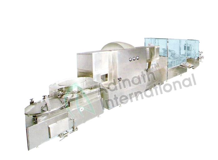 Machine Specification of Vial Powder Filling Line