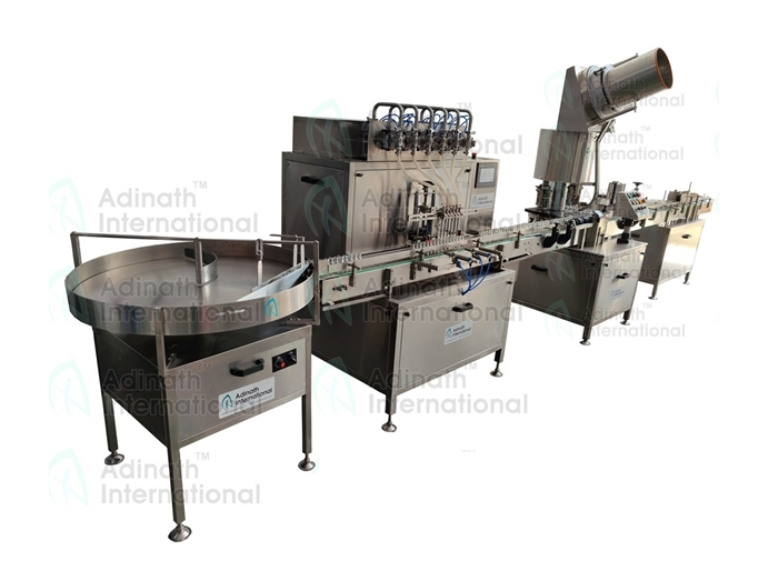 Oral Liquid Filling Line Suppliers in India