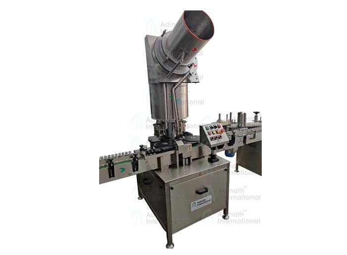 Automatic Bottle Capping Machine - Adinath International