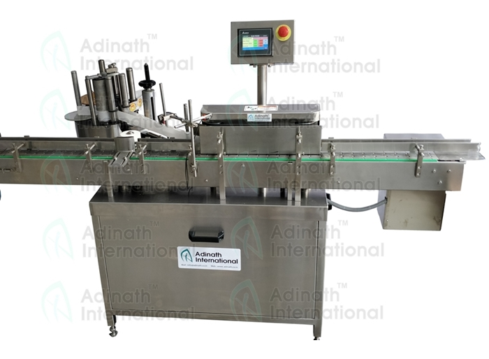 Specification for Automatic Bottle Sticker Labeling Machine