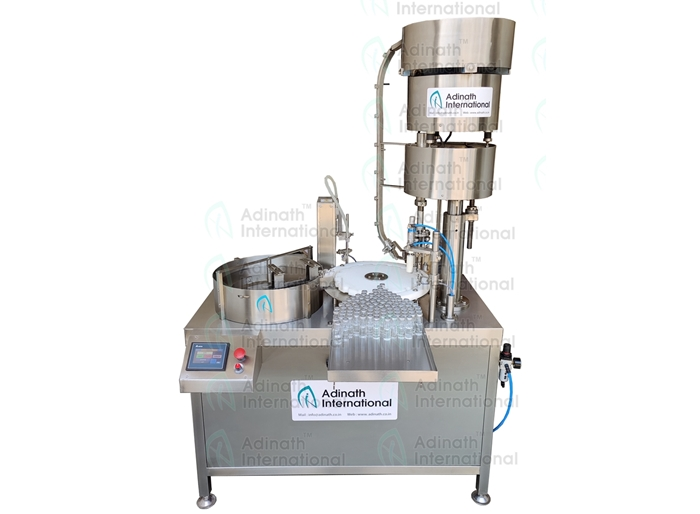 Bottle Filling Capping Machine R&D Lab Model