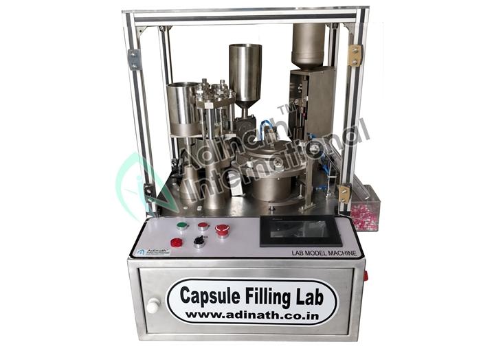 Capsule Filling Machine R&D Lab Model Manufacturers & Suppliers