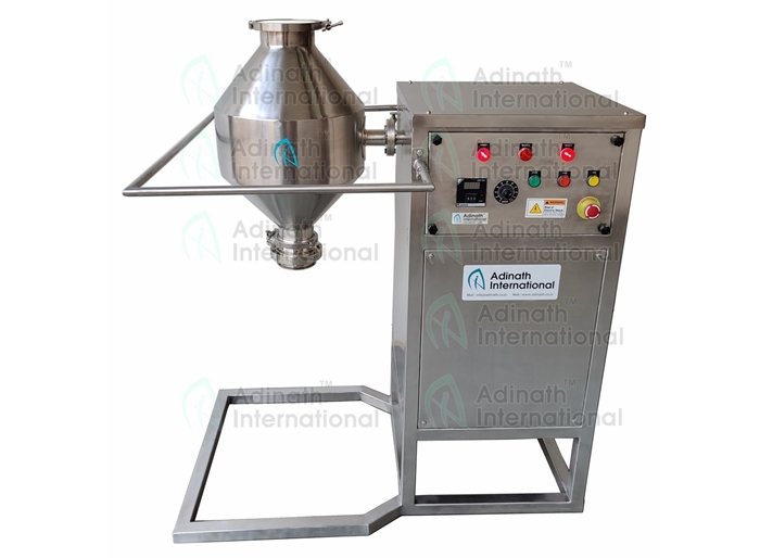 Double Cone Blender R&D Lab Model Suppliers in India