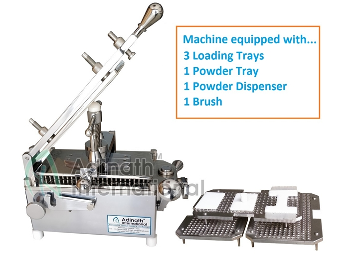 Manual Capsule Filling Machine Specification