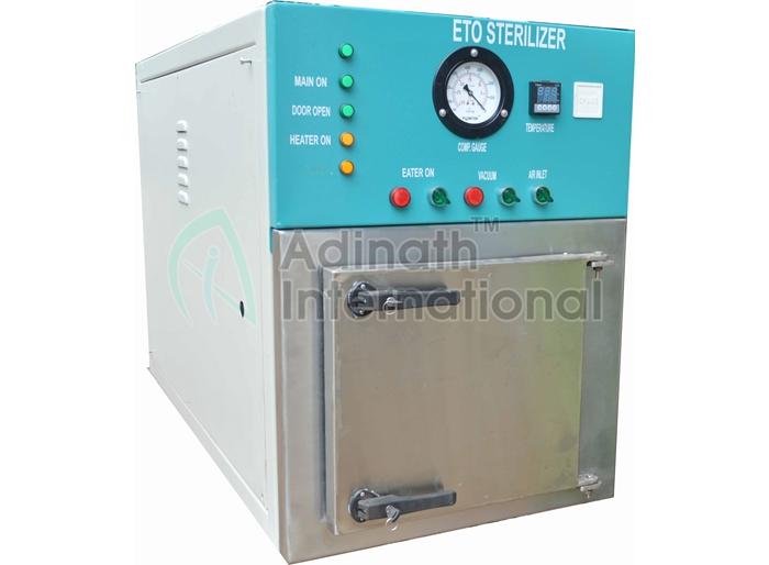 Production Scale ETO Sterilizer Manufacturers in India