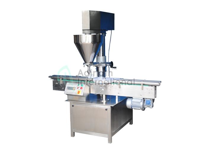 Semi Automatic Auger Powder Filling Machine2
