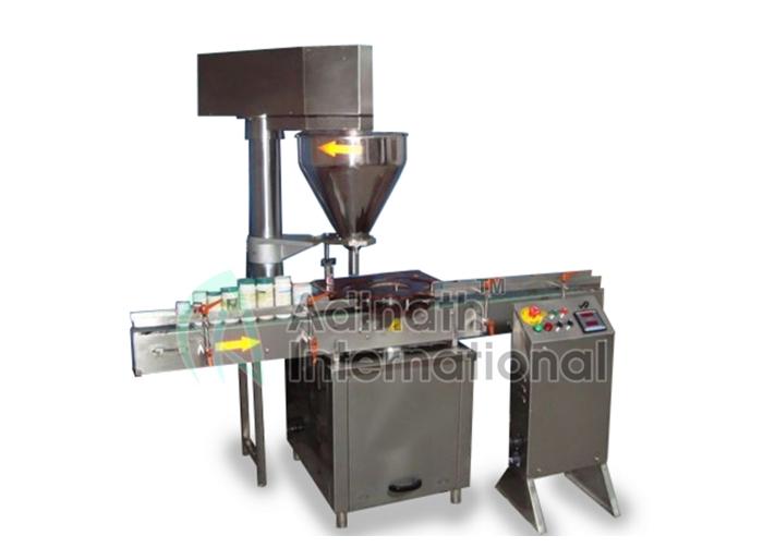 Talcum Powder Filling Machine Specification
