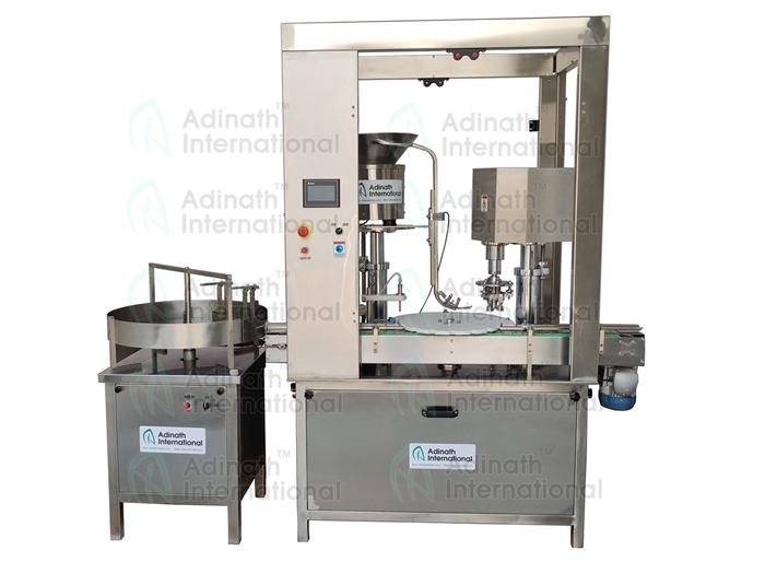 Vial Filling Stoppering Cap Sealing Machine R&D Lab Model Manufacturers