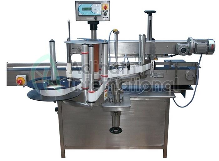 Automatic Vial & Bottle Wet Glue Labeling Machine