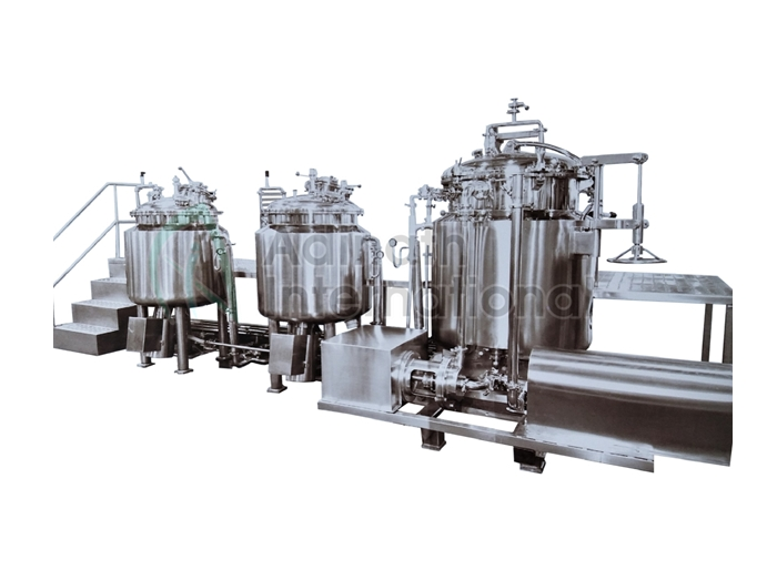 Gel and Lotion Manufacturing Plant