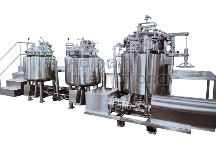 Ointment Manufacturing Plant, Cream Manufacturing Plant
