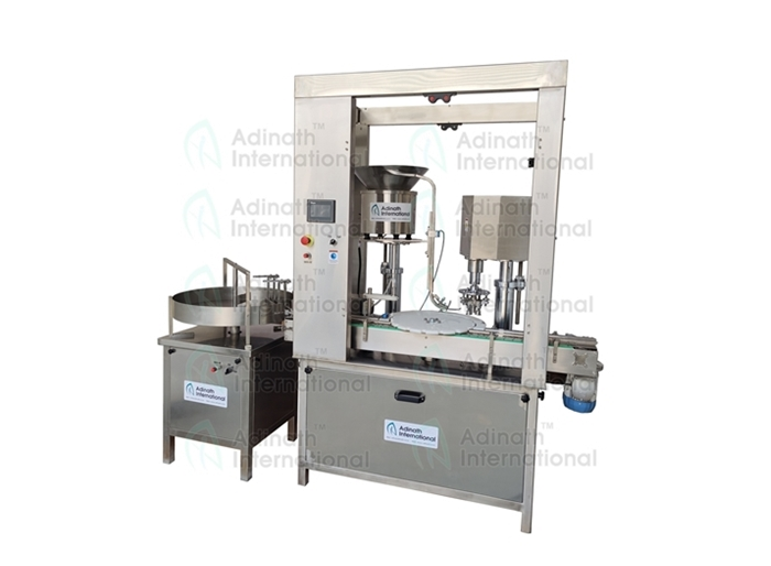 Peristaltic Based Vial Filling, Stoppering & Capping Machine