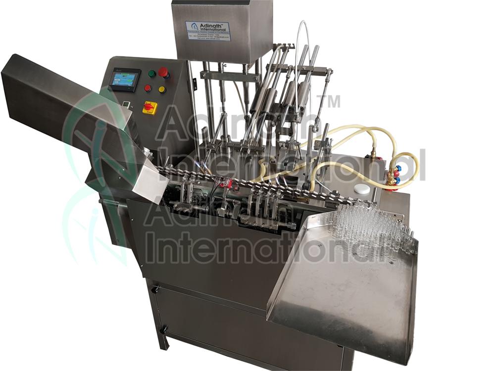 ampoule filling machine servo based
